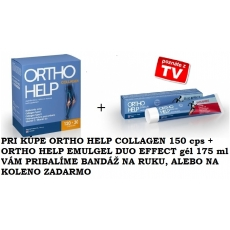 ORTHO HELP COLLAGEN 150 cps. + ORTHO HELP EMULGEL DUO EFFECT gél 175 ml