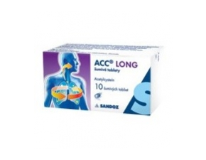 Acc long 600mg šumivé tablety 10tbl